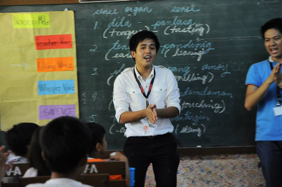 I learned a lot from my first ever experience in co-teaching during my SI practicum with Kuya Ems! :)